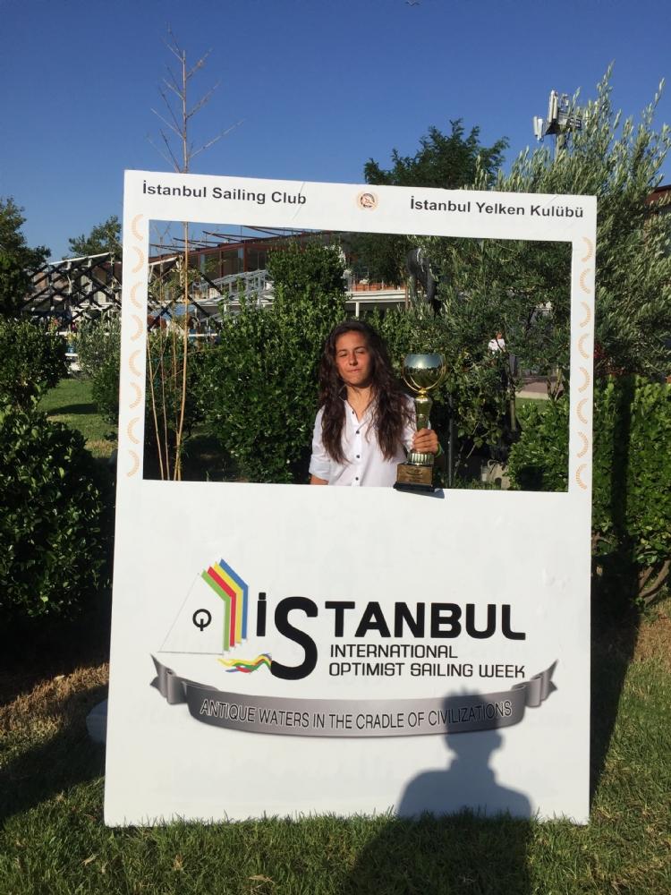 8 - 12 Ağustos 2017 İstanbul Uluslararası Opti Week Yelken Yarışı.