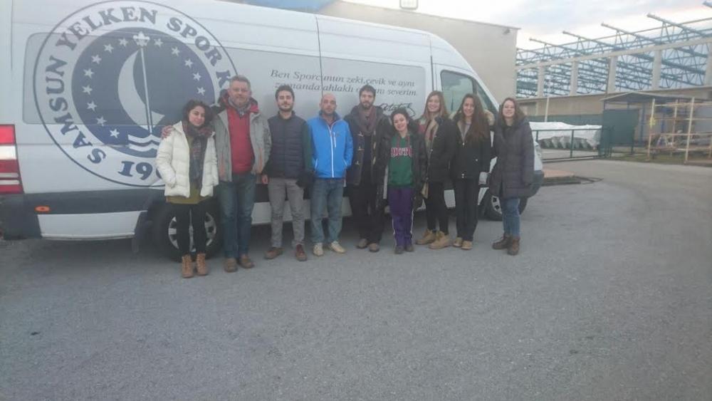 Odtü Yelken Topluluğu Öğrencileri Laser Eğitimi Için Samsun Yelken Kulüp De...