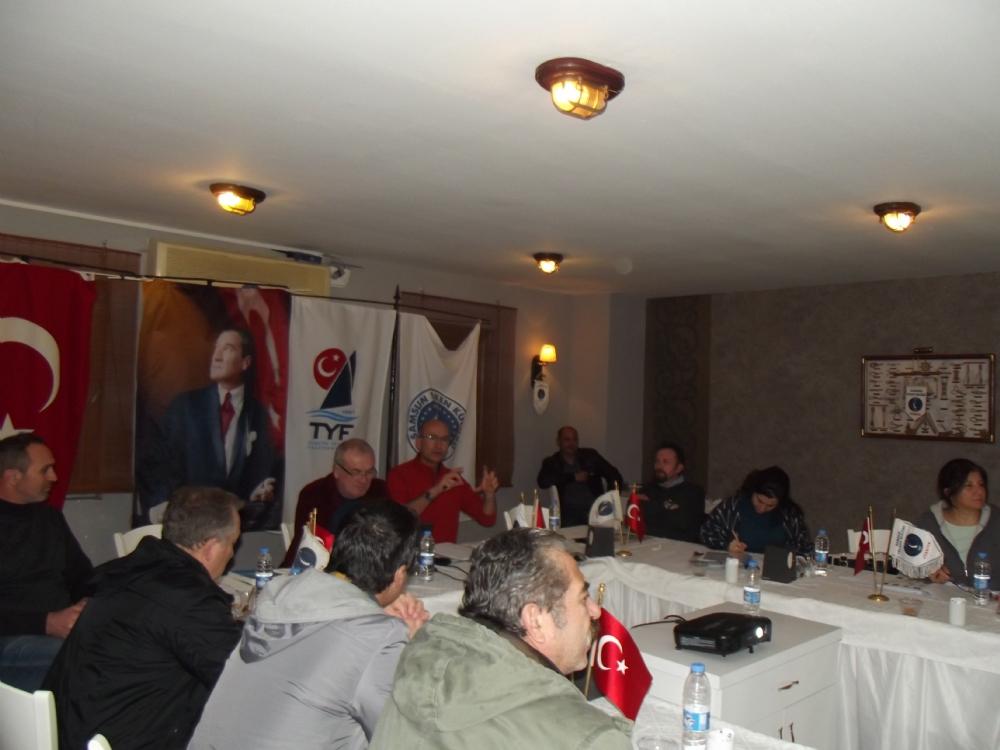 7- 8 Ocak 2017 Hakem Vize ve Terfi Semineri Samsun