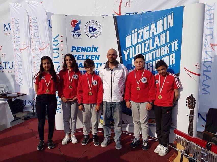 05-07 Mayıs 2017  Marintürk Türkiye Optimist Takım Yarışı.