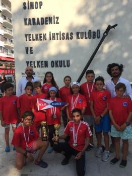 12-13 Temmuz 2017 Sinop 15 Temmuz Kupası Yelken Yarışları.