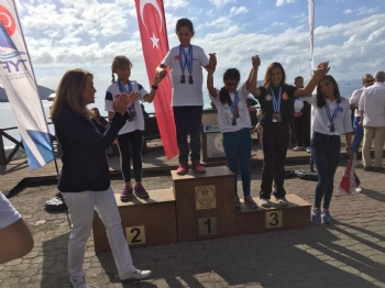 5 - 9  Ekim 2017 Optimist Deniz Kızı Kupası Yelken Yarışı Muğla/fethiye