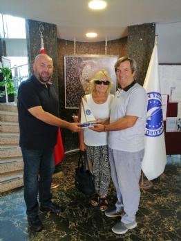 Donanma Komutanı Oramiral Kösele' nin Kulübümüze Ziyareti
