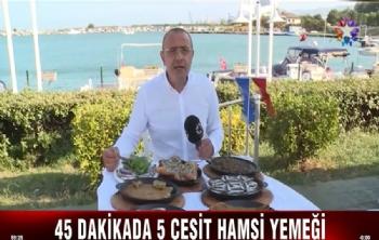 Kulübümüz Mutfağından Hamsi Yemekleri.