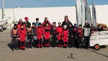 Optimist Bölge Kampı Samsun'da yapıldı