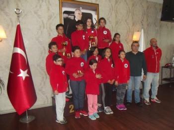 19 Mayıs Kupası Optimist-laser Yelken İl Yarışı Ödül Töreni
