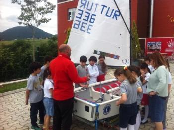 07.06.2016 Bahçeşehir Koleji Yelken Eğitim Simülatör Tanıtımı