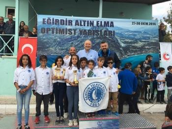 27 - 30 Ekim 2016 Eğirdir Altın Elma Optimist Yelken Yarışı.
