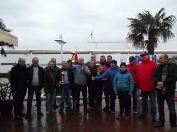 25 Aralık 2016 Karadeniz Gezi Sınıfı Yat Yarışı