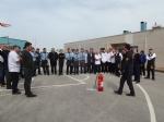 28.03.2018 Samsun Yelken Kulübü Personeli Yangın Eğitimi Ve Yangın Tatbikatı.