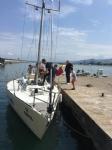 19 Mayıs Samsun Yelken Kulübü Isimli Eğitim Teknemiz.