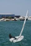 Denizde 25 Knot Rüzgar Laser